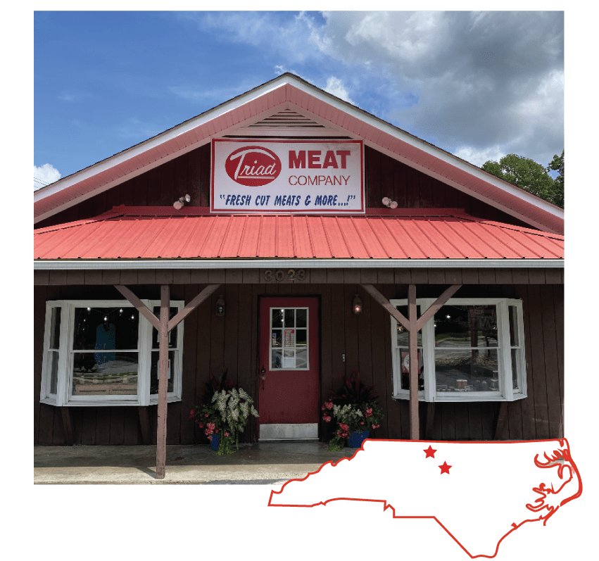 Triad Meat Company is serving the Piedmont Triad area